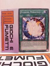 FUSIONE MIRACOLO in italiano COMUNE originale YUGIOH KONAMI