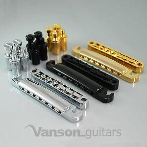 Vanson 7 string Bridge, Stop Bar / Tailpiece for Epiphone Les Paul Schecter ESP