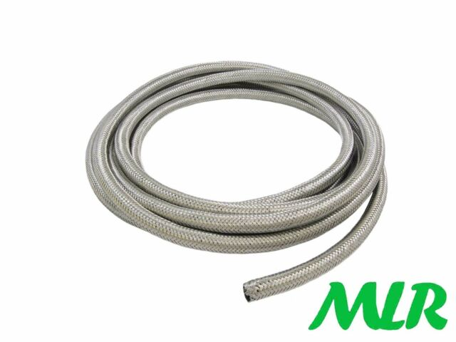 s l640 mini cooper a series 1 4inch 6mm stainless steel braided fuel hose