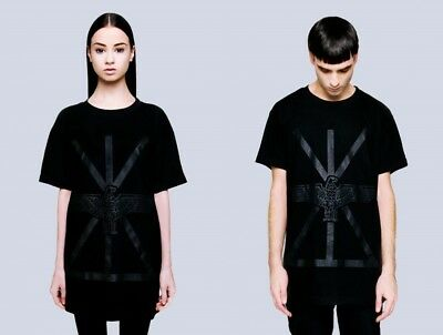 Buono Long Clothing X Boy Union Nero Su Nero T Shirt-unisex Tg S.m.l Boy London-