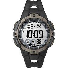 Timex T5K802, Men's Marathon Resin Watch, Indiglo, Alarm, Stopwatch, T5K802M6
