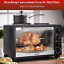 Benchtop Convection Oven W Hot Plate Portable Roast Bake Cook Student Unit NEW