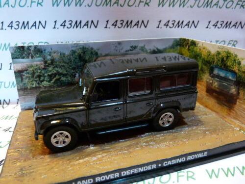 LAND ROVER Defender 110 Casino Royale JB85E voiture 1//43 IXO 007 JAMES BOND