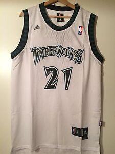 cheap for discount 730e5 dc66d Details about Maglia canotta NBA basket Kevin Garnett Jersey Minnesota  Timberwolves S,M,L,XL