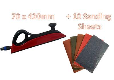 120 Grit 80 x 230mm PRONET Handy Strips for Mirka Handy Sanding Block