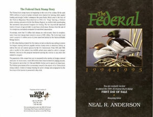RW61-C2-15-00-1994-1995-Federal-Duck-Stamp-First-Day-Ceremony-Program