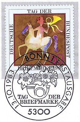 Brd 1983: Tag Der Briefmarke! Nr 1192 Mit Sauberem Bonner Sonderstempel! 1a! 155