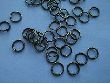 100 to 4000 Metal Open Jump Split O Rings Jewellery Connectors -Buy 3 Get 1 FREE