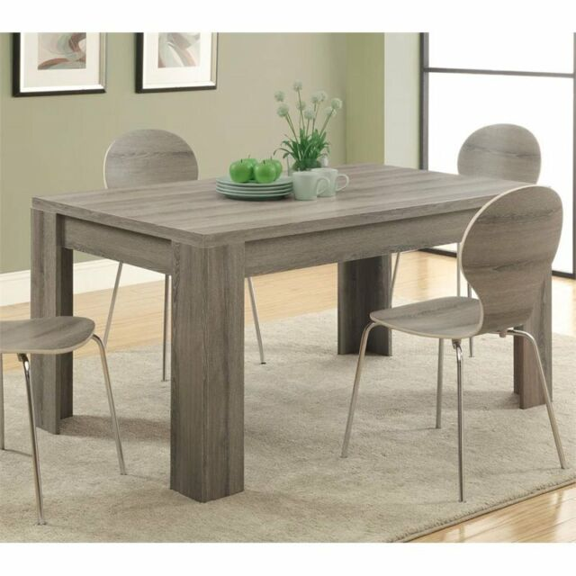 Monarch Dining Table in Dark Taupe