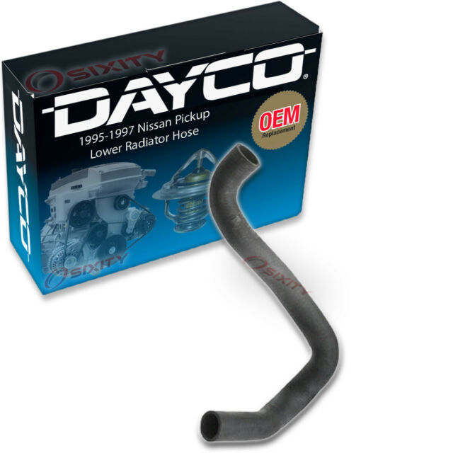 For 1969 Ford F250 Radiator Hose Lower Dayco 14296MX