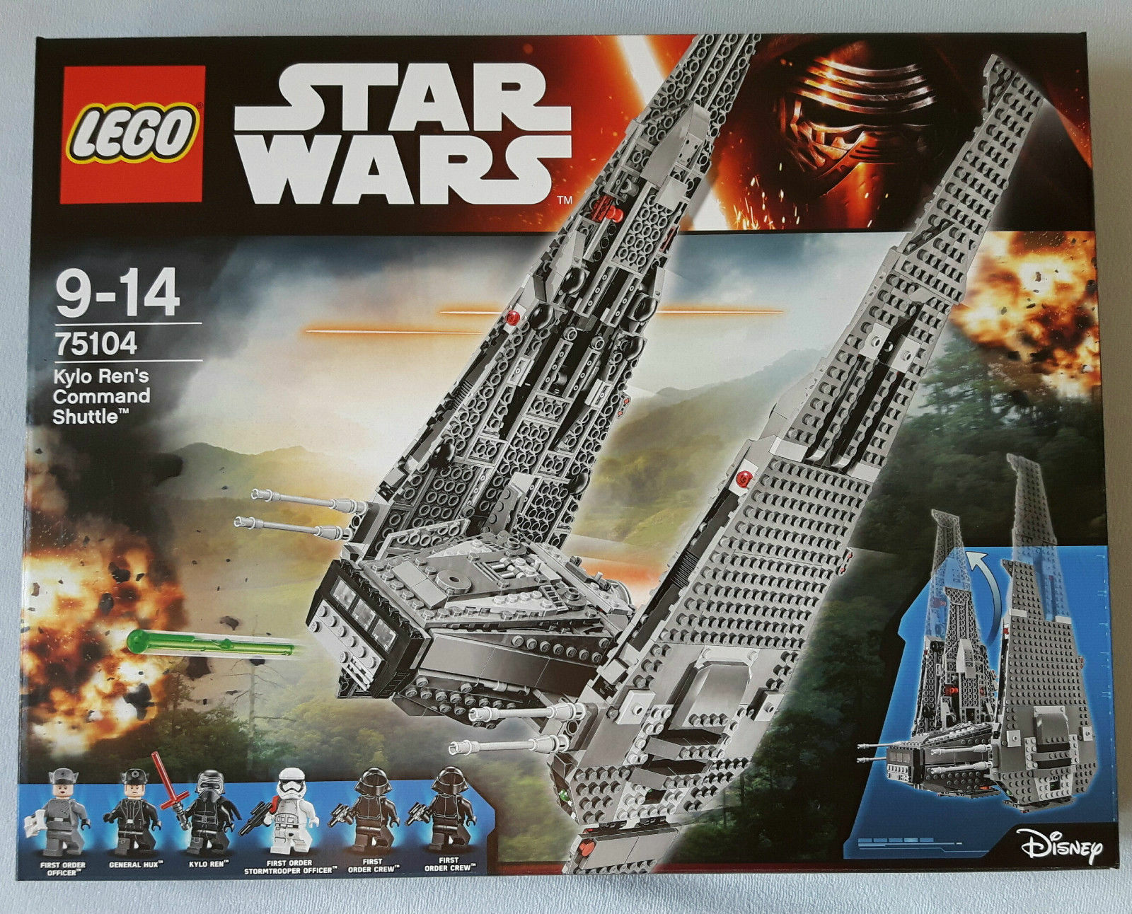 LEGO® Star Wars™ 75104 Kylo Ren's Command Shuttle NEU & OVP