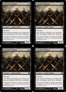 4x-RETURNED-PHALANX-Theros-MTG-Black-Creature-Zombie-Soldier-Com