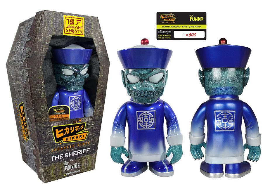 Funko Premium salto de fantasmas oscuro Magic el Sheriff japonés Vinilo Figura le 500