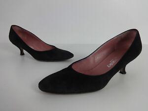 Womens Shoes 35 UK Black Suede Russell Bromley 2034 Kitten Heels Ladies EUR 365 - Hoddesdon, United Kingdom - Womens Shoes 35 UK Black Suede Russell Bromley 2034 Kitten Heels Ladies EUR 365 - Hoddesdon, United Kingdom