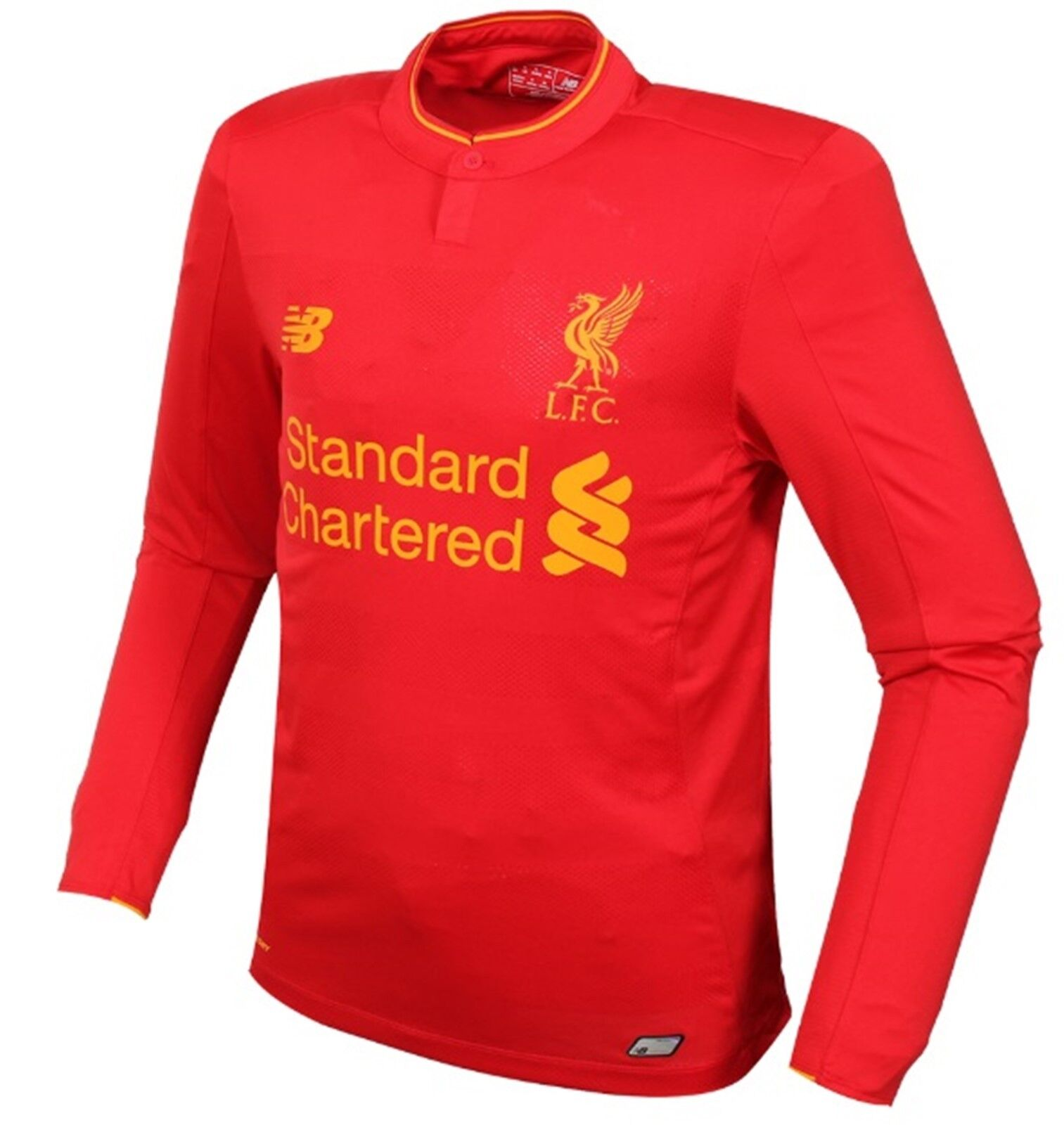 New Balance Men Liverpool FC Home Football Shirts ROT LFC Top Jersey D64505120
