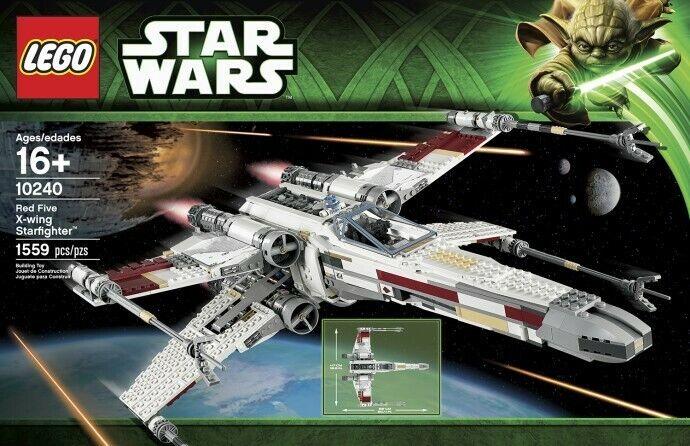 LEGO estrella guerras  UCS COLLEZIONE  75060 Slave 1, 75095 Tie combatiente & 10240 X-Wing   marchio famoso
