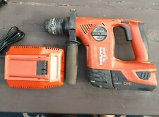Hilti Cordless Te4 A18 Rotary Hammer Drill 1833 Battery C436 90 Charger