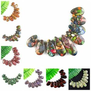 Wholesale-9pcs-Mixed-Gemstone-Sea-Sediment-Jasper-Pendant-Bead-Set-F-Bead-29