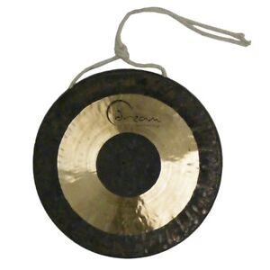 """Dream 12"""" Chau Black Dot Gong, FREE UK SHIPPING"""