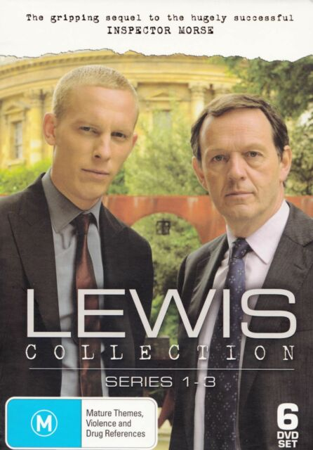 Lewis - Collection : Series 1-3 (DVD, 2010, 6-Disc Set)