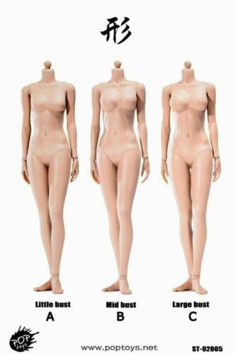 POPTOYS 1//6 Scale Xing série femelle Bronzage couleur Figure Modèle de corps de poupée 92005