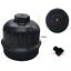 Billet Fuel Filter Housing Cap Cover For Duramax 6.6L LP5 by H/&S Motorsports