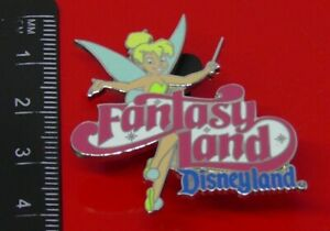 Used-Disney-Enamel-Pin-Badge-Tinker-Bell-Character-Fantasyland-2004