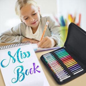 18 pennarelli per penne gel glitterate per adulti Libri da colorare Disegno