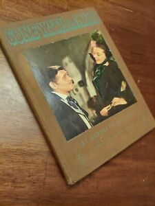 Gone With The Wind 1st Printing 1939 Illustrated Motion Picture Edition First