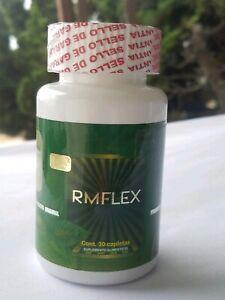 RMFLEX-JOINT-PAIN-Turmeric-Curcuma-MSM-SHARK-CARTILAGE-Etc-30-CAPS-100-Orig