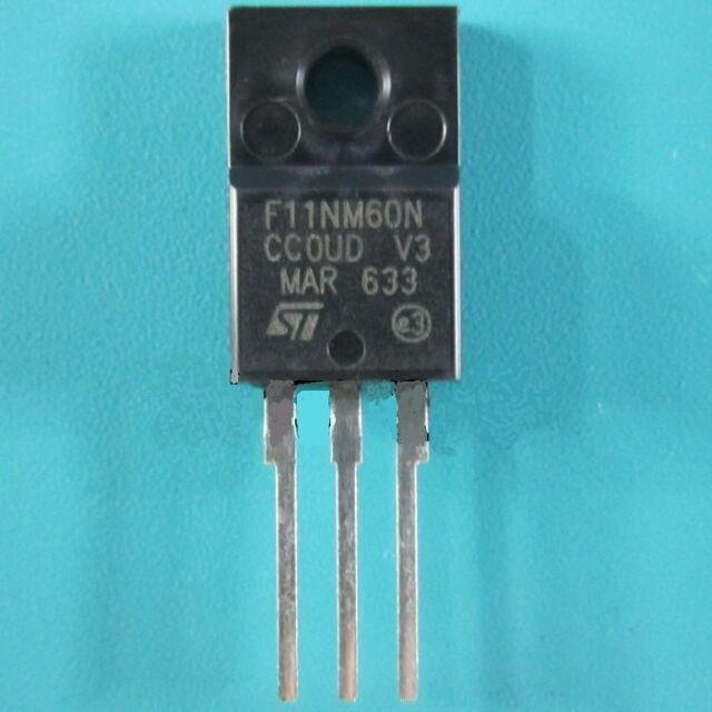 STF11NM60N F11NM60N ST Transistor nChannel MOSFET 650V 10A