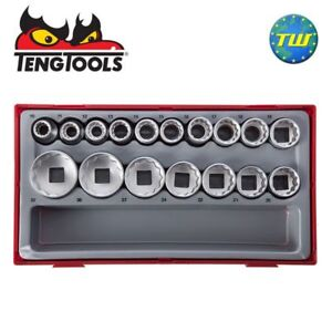 Teng-17pc-1-2-034-12-Point-Reg-Metric-Socket-Set-TT1217-Tool-Control-System