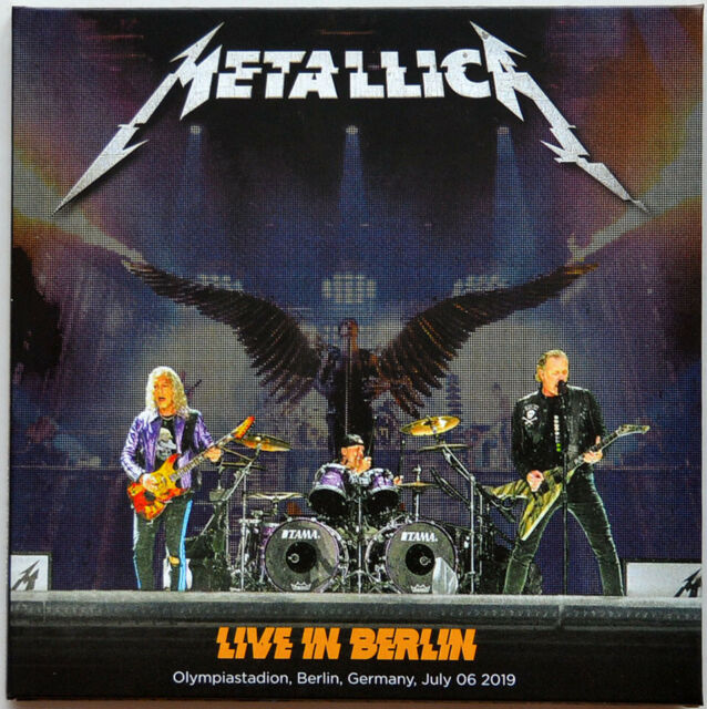 Metallica LIVE IN BERLIN 2019 WorldWired Tour 2CD set in digisleeve