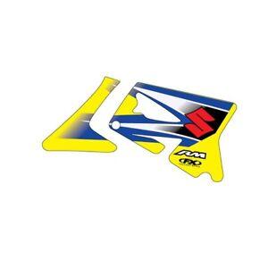 Factory-Effex-Original-Shroud-Graphics-2006-Yellow-fits-Suzuki-RM125-RM250