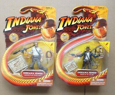 """Lot of 3 Random Indiana Jones Ucha Cairo Swordman Monkey Man 3.75/"""" Action Figure"""