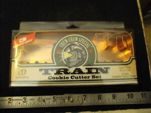 CHEW - CHEW Special Train Cookie Cutter set, New in Box