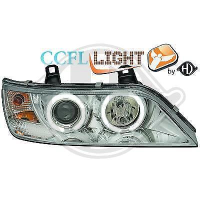Set Fanali per BMW z3 anno 95-02 LED Angel Eyes Vetro Chiaro//cromo CON FRECCE
