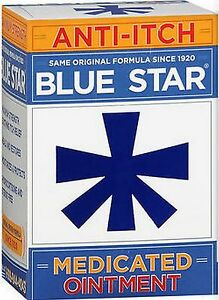 Blue Star Ointment For Ringworm Eczema Itching 2oz 368429201027 Ebay