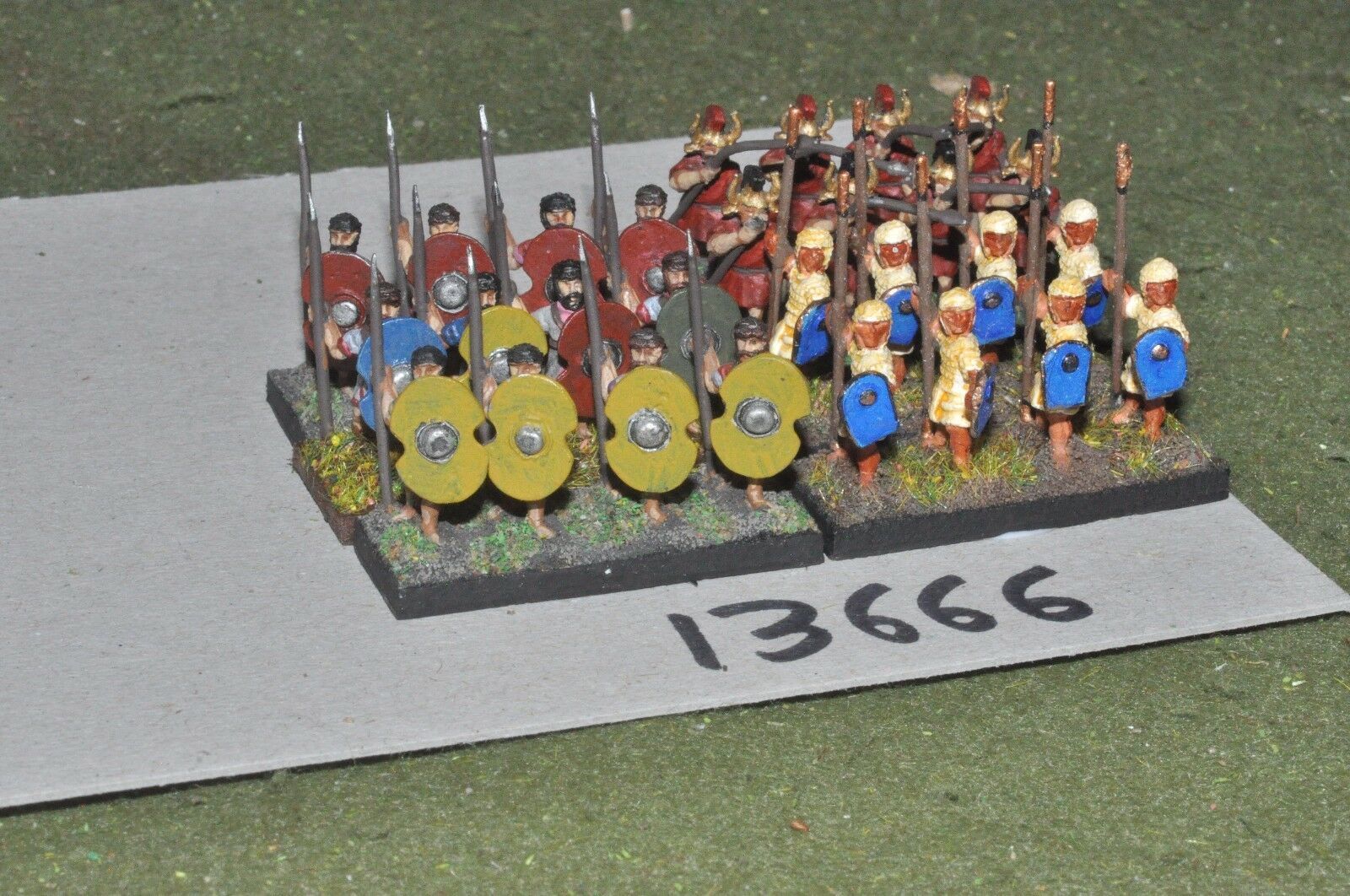 15mm classical   persian - achaemenid infantry 28 figs - inf (13666)
