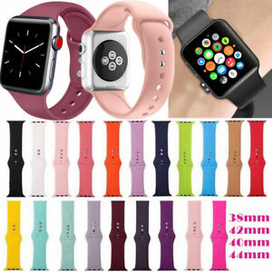 Silicone-Bracelet-Band-Strap-For-Apple-Watch-iWatch-Sports-Series-1-2-3-4-Canada