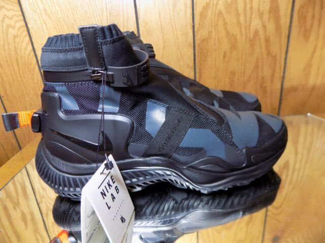 online store f21a3 00e3b Nike Nikelab NSW Gaiter Boot Black Anthracite Olympic AA0530 001 Men s Size  8.5