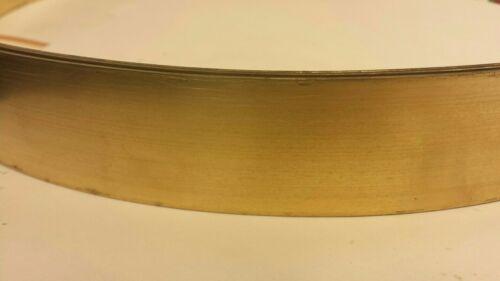 "10 Feet 0.05/"" x 1.375/"" x 120/"" Long C26000 260 Brass Sheet Flat Bar Shim Stock"