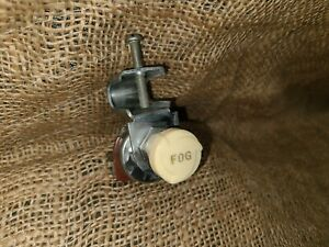 Vintage-Cole-Accessory-FOG-LITE-Switch-Light-Lamp-gm-ford-chevy-buick-art-deco