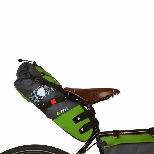 POLARIS VENTURA seatpack MAX verde 9 LT bikepacking Pack