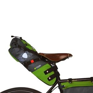 Porte bagage noir Zefal Rodeo à fixer à la tige de selle avec catadioptre arrièr