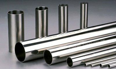 "2"" x 24""  Polished, SS304 Pipe, Tubing, Still Column. 1.5mm, 16 Gauge."