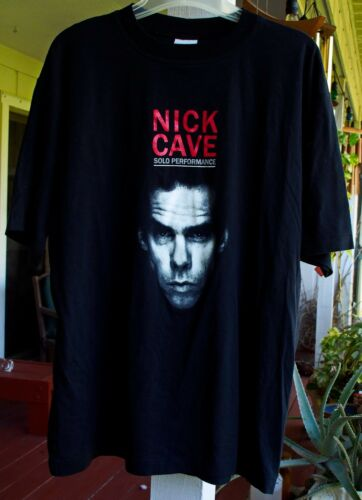 NICK CAVE SOLO PERFORMANCE AUSTRALIA 2000 TOUR RAR
