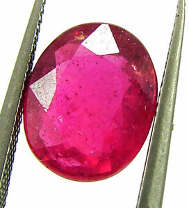 2-95-Ct-Natural-Certified-Ruby-Loose-Gemstone-Oval-Cut-Mozambique-Stone-132979