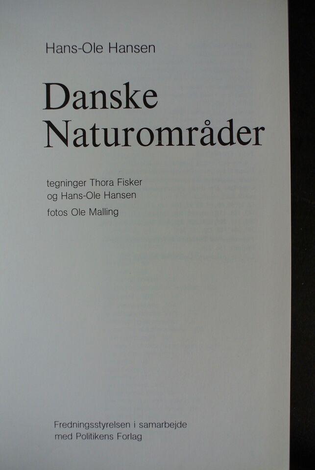 danske naturområder, hans-ole hansen, emne: natur og
