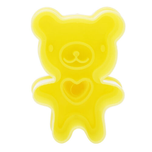 3Pcs Rabbit Bear Sandwich Mold Toast Cookies Cake Bread Biscuit Cutter Mould one